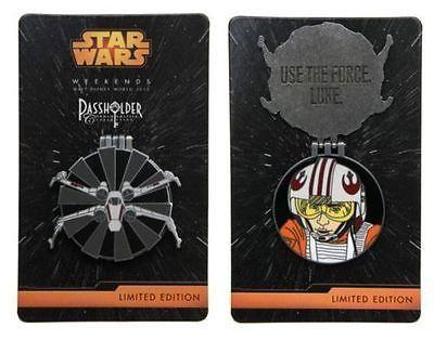 Disney Star Wars Weekends 2015 Annual Passholder Luke Skywalker Pin @ niftywarehouse.com #NiftyWarehouse #Geek #Products #StarWars #Movies #Film