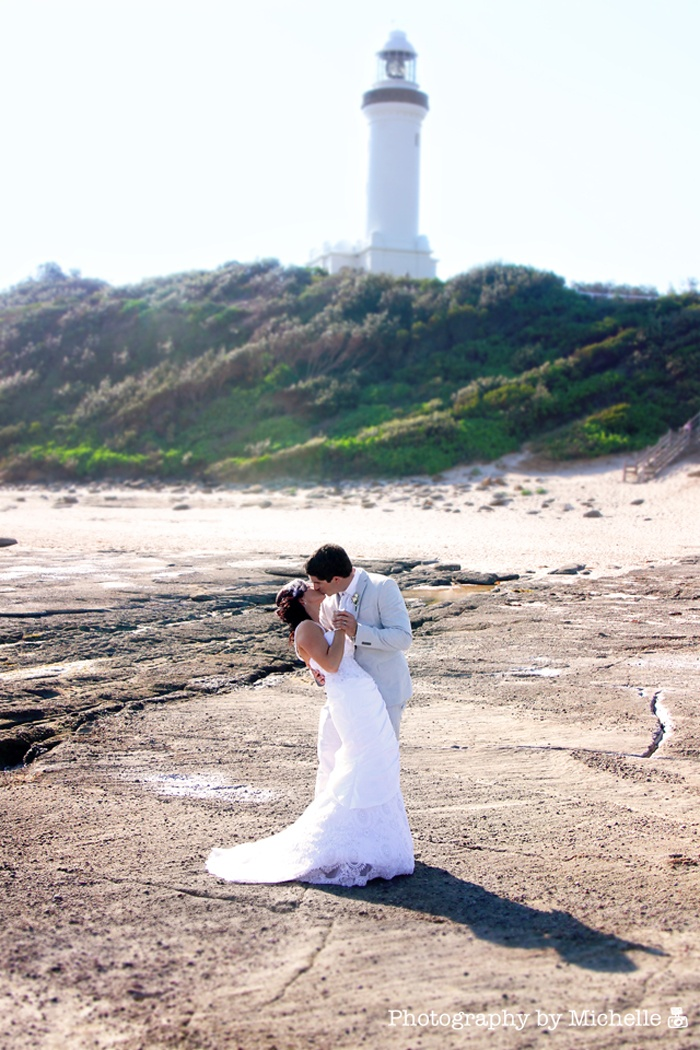 Photography by Michelle: A Norah Head Lighthouse Wedding ~ Central Coast