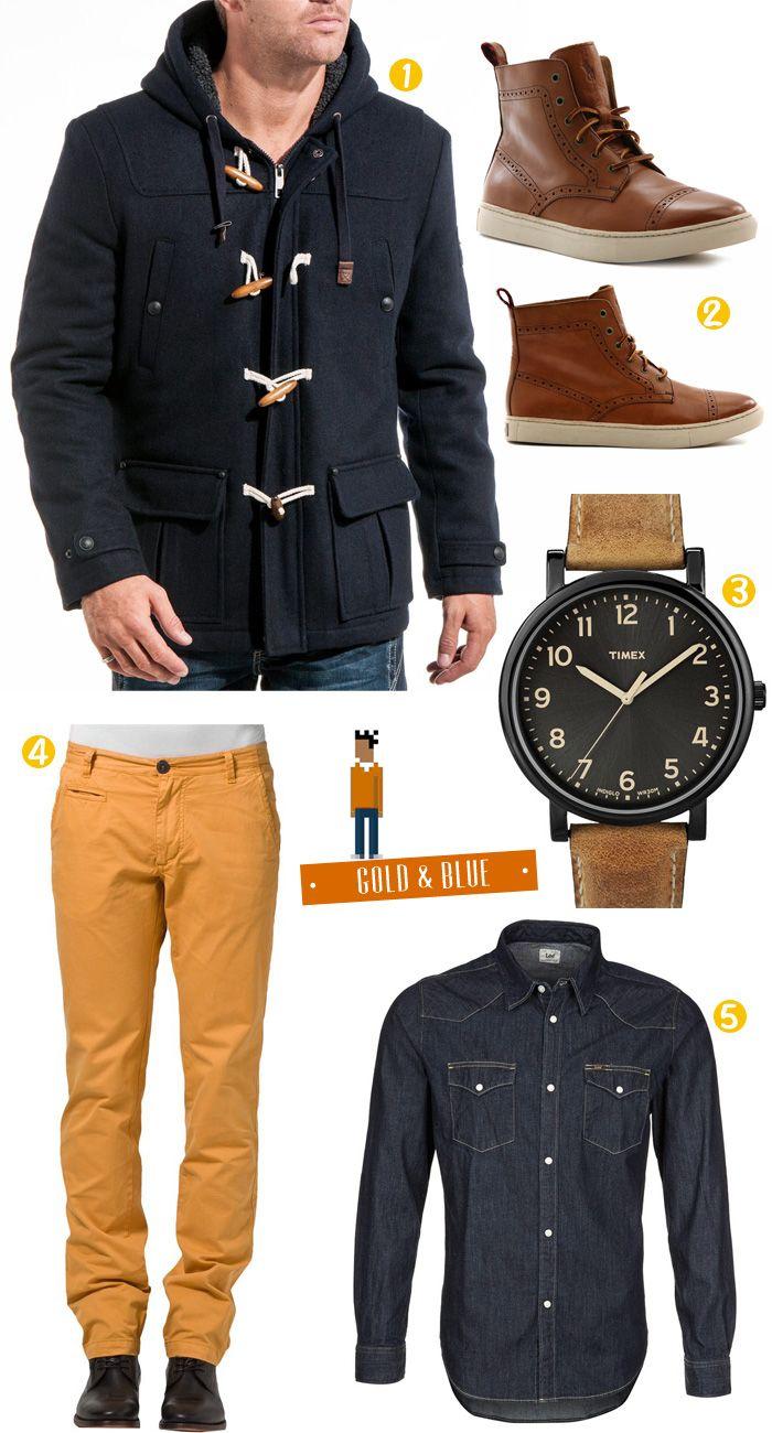MODE HOMME | Pour bien démarrer la semaine, nous vous présentons un look avec un manteau Duffle Coat. Pour ceux qui ne connaissent pas ce type de veste c'est un mant