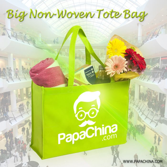 The Big Non-Woven Tote Bag which has some of the diversified uses can be used for carrying things, with its amazing and awesome features for your customers that includes foldable, 80gram non-woven, long Handle, thereby promotes your company name with its fascinating and diversified facilities for your customers.
