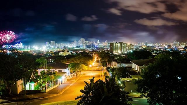 Time lapses in Durban.