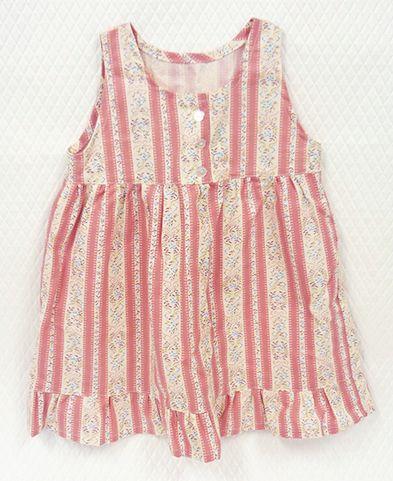 たっぷりギャザーを入れた、らくちんワンピース* Comfortable one-piece dress with plenty gathers. #onepiece #sewing #handmade #JAGUAR