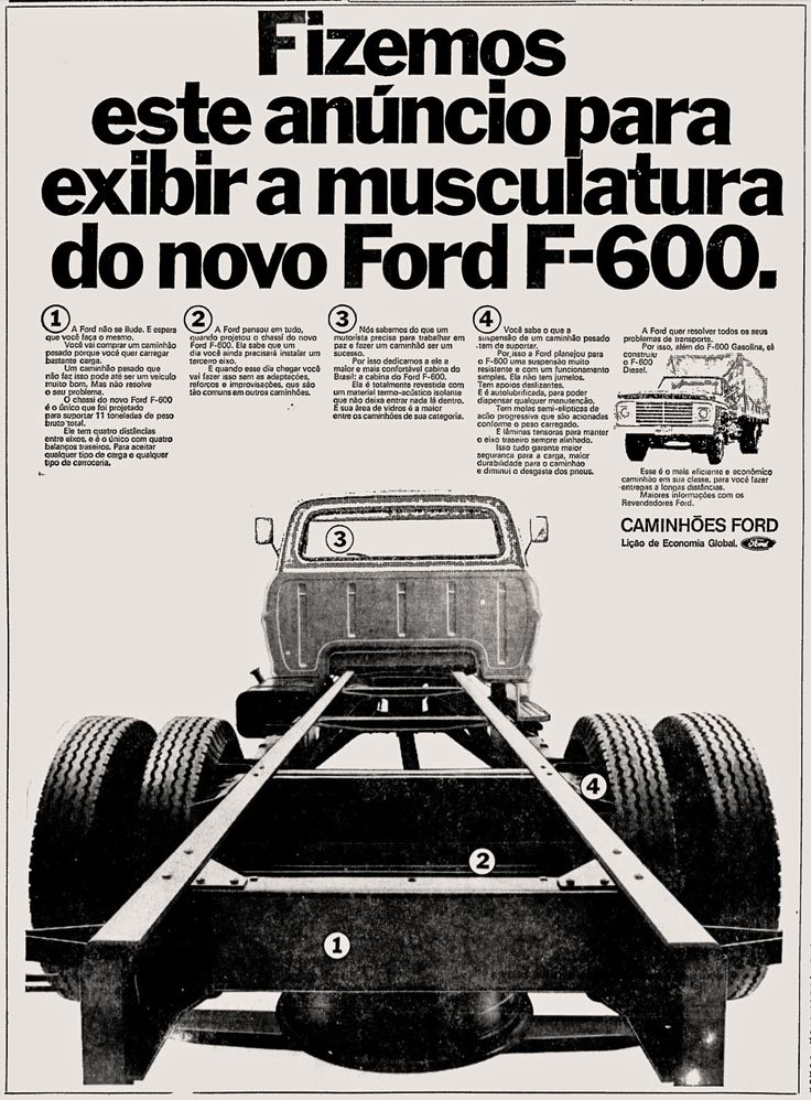 1972; brazilian advertising cars in the 70s; os anos 70