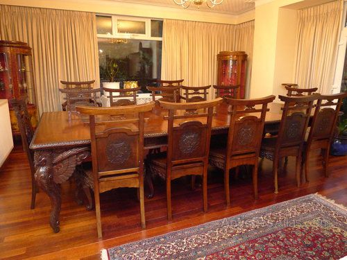 Japanese Dining Table And Chairs Antiques Atlas