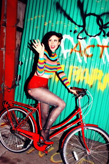 Kate Nash Goes For A Late Night Bike Ride In 'Galore' | MTV Style