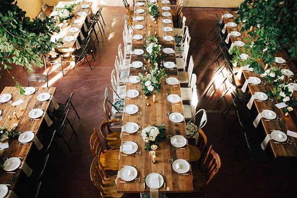 Rustic country table setting // Photography: This Day Forward Photography