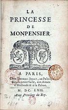 Madame de La Fayette - Wikipedia, the free encyclopedia