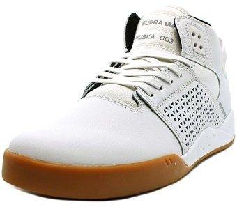 Supra Skytop Iii Round Toe Suede Sneakers.