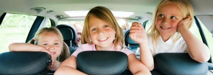 6 rád, ako prežiť dlhú cestu autom s deťmi