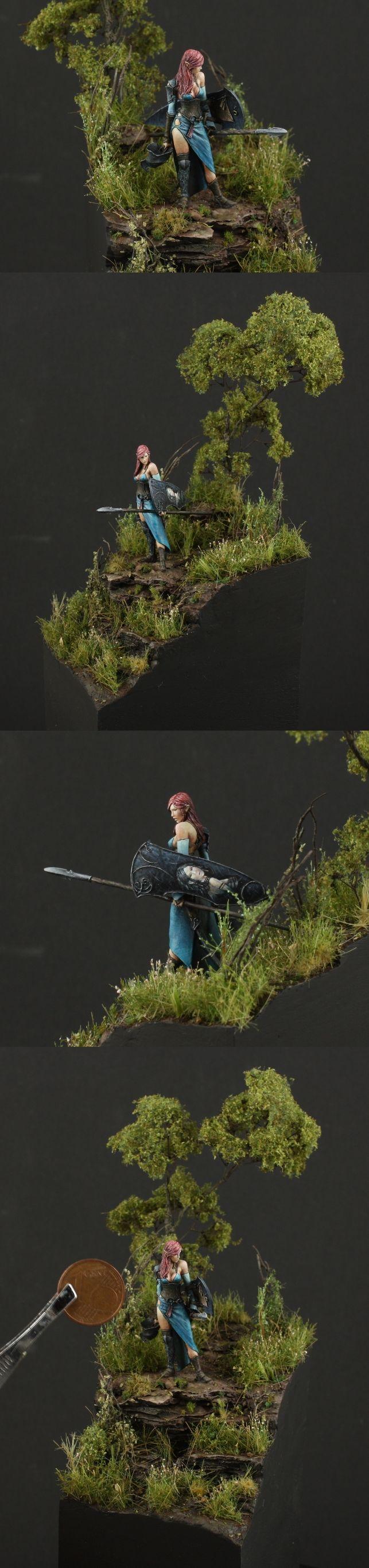 Excellent use of vegetation.    El Final de la Batalla