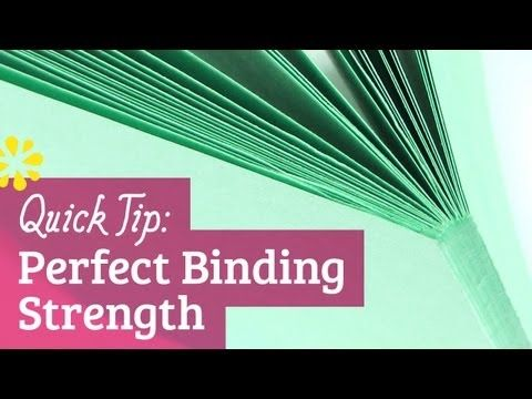 Quick Tip: How to make your perfect book binding stronger