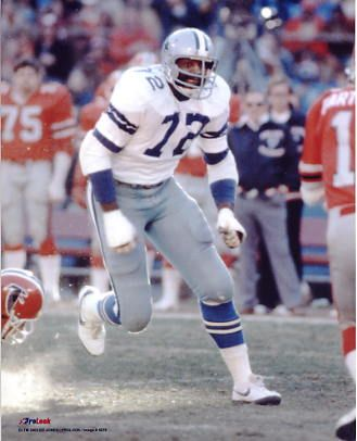 Ed Jones Too Tall Jones Dallas Cowboys