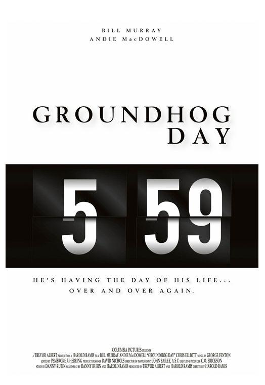 Alternative Movie Poster - Groundhog Day
