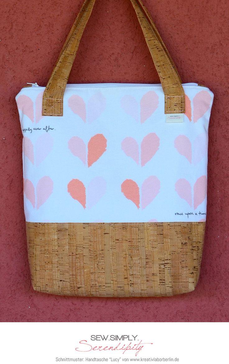 """Tasche """"Lucy"""" von Sew.Simply.Serendipity: http://de.dawanda.com/product/104785139-schnittmuster-tasche-lucy-9-naehvarianten"""
