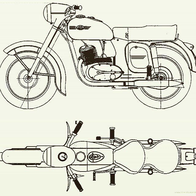 Jawa motorcycle sketch  More photos on - http://ift.tt/1MOOLiU (Link in Profile) | #jawa | #jawamotorcycles.com | #idealjawa| #2stroke | #chrome | #Cz | #biker | #bikelife | #motorcycles | #smoking | #yezdi | #retro | #czech | #vintage | #vintagestyle |#india | #motorsport | #motorbike | #caferacer | #bikeporn | #instamotogallery | #dirt | #bike | #picoftheday | #nolimits | #gopro | #motocross | #motorcycleyard |