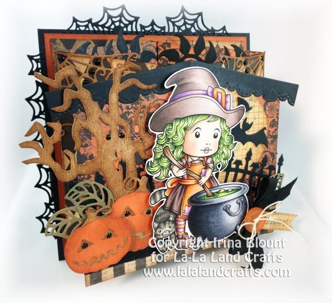 Рессора Передняя Хэллоуин карты с msb4u - карты и бумаги ремесел в Splitcoaststampers