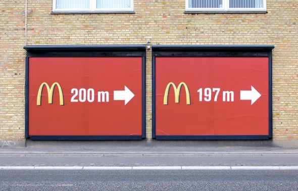 McDonald's - You're almost there….