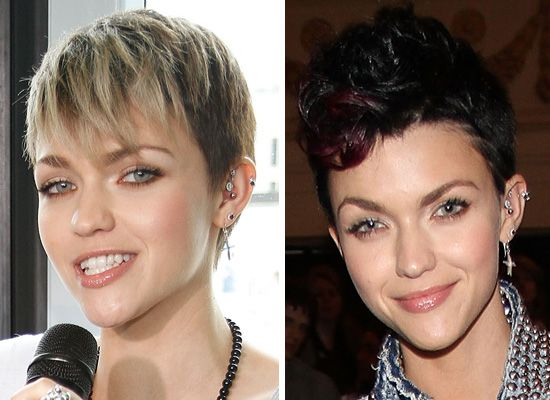 1 Day, 2 Hair Colours: Which Do You Like Best on Ruby Rose?