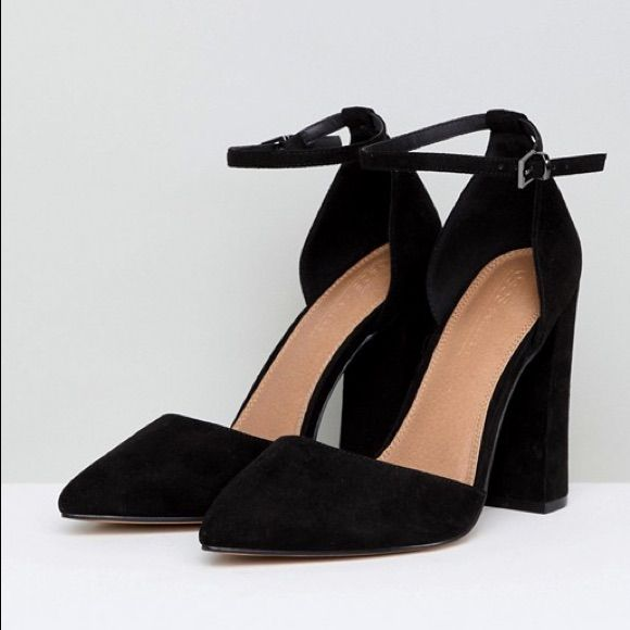 ASOS Design Pebble Pointed High Heels