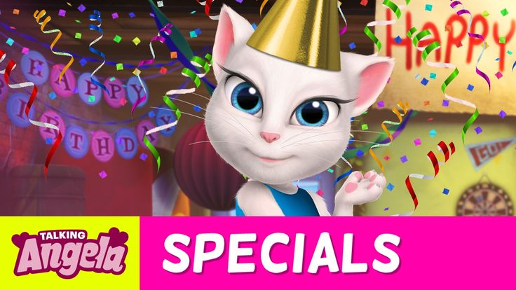 Talking Angela Sings – Happy Birthday to Me! (NEW Song) xo, Talking Angela IT'S MY BIRTHDAY! WOOHOO! And to celebrate, I made this super special birthday music video… You might recognize the song…. ;)  #TalkingAngela #MyTalkingAngela #LittleKitties #YouTube #video #birthday #happybirthday #fun #friends #celebration #celebrate #celebrating #birthdaygirl