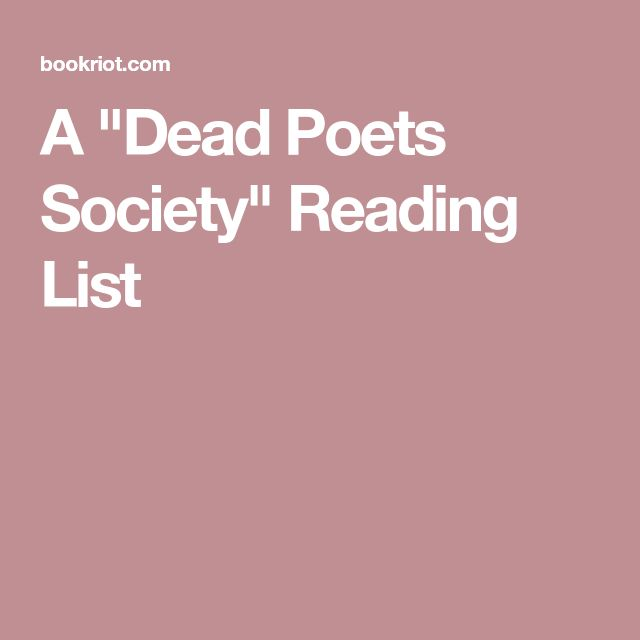 dead poet society in psychology Dead poet society is a movie directed by peter weir it has been set at the welton academy in vermont in 1959 which was conservative and aristocratic the school education is very important but the teachers deliver it in a very boring manner.