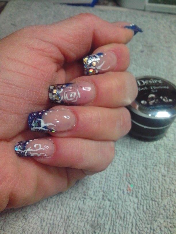 Nail art. Con  prodotti Desire  terry  nails