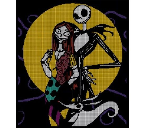 Crochet Patterns Nightmare Before Christmas : Christmas crochet patterns, Afghans and Nightmare before christmas on ...