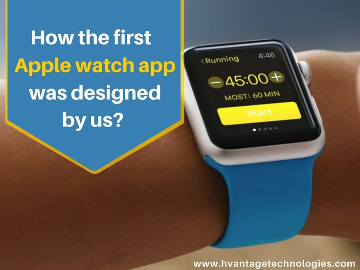 How the first #apple watch #app was designed by us? #Mobileapp #PPC #CPC