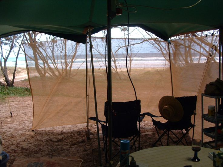 View from our camp