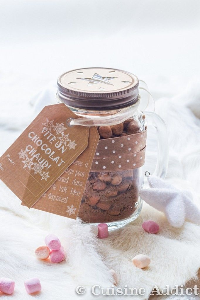 Hot Cocoa with Marshmallow Mix - Cuisine Addict - English version