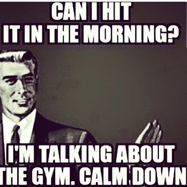And I'm out. Night guys back tomorrow. Friday doesn't mean take it easy.....get your ass to the gym or the living room or i don't care where, get active tomorrow before you have those burgers and fries and shakes!☀️