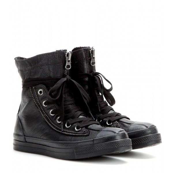 Converse Chuck Taylor All Star Combat Boots found on Polyvore