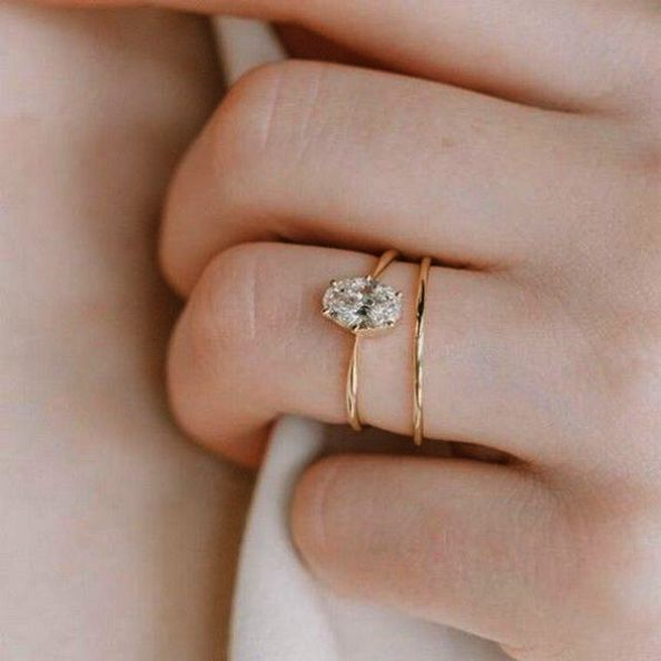 Pin On Vintage Solitaire Engagement Rings