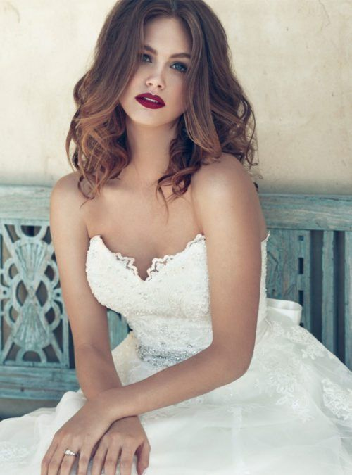 21 best Wedding hair down images on Pinterest | Wedding hair ...