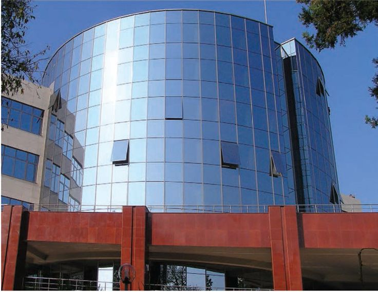 "The architectural systems with which Alumil supplied the ""Free"" University of Burgas in Bulgaria is the Curtain wall M6 For further information visit our website www.alumil.com"
