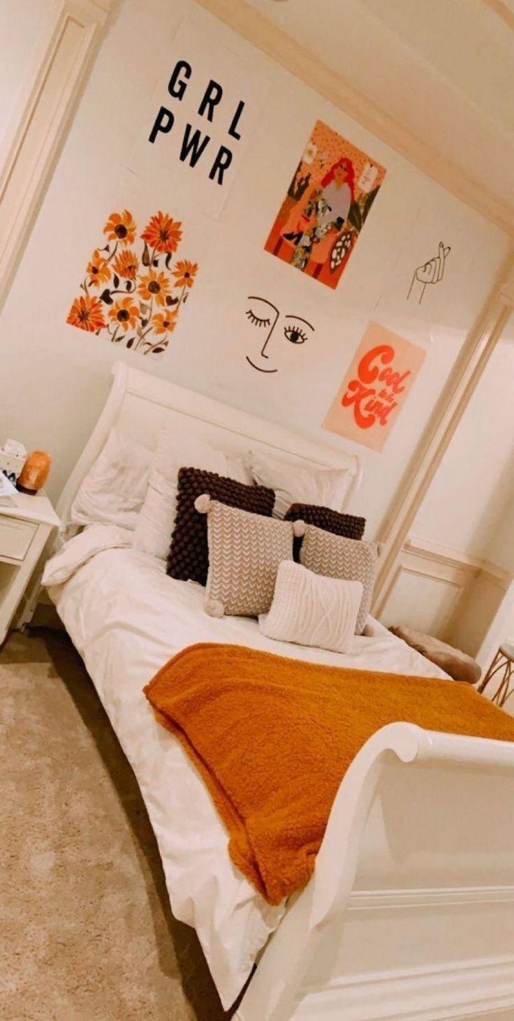 groß 46 tolle Deko-Ideen für das kleine Schlafzimmer 33