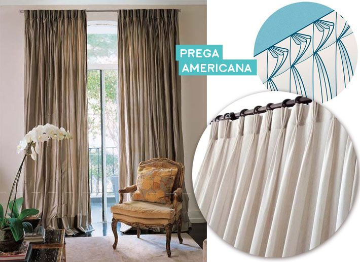 25 best ideas about trilho para cortina on pinterest - Tipos de cortinas ...