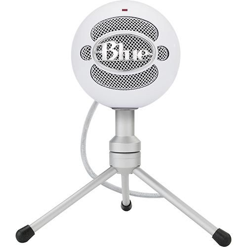 Blue Microphones - Snowball iCE USB Microphone - White - Larger Front