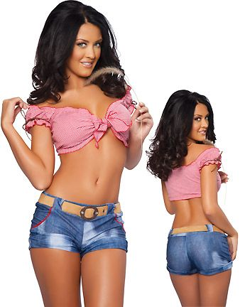 daisy duke shorts and top southern girl white trash girl - Daisy Dukes Halloween Costume