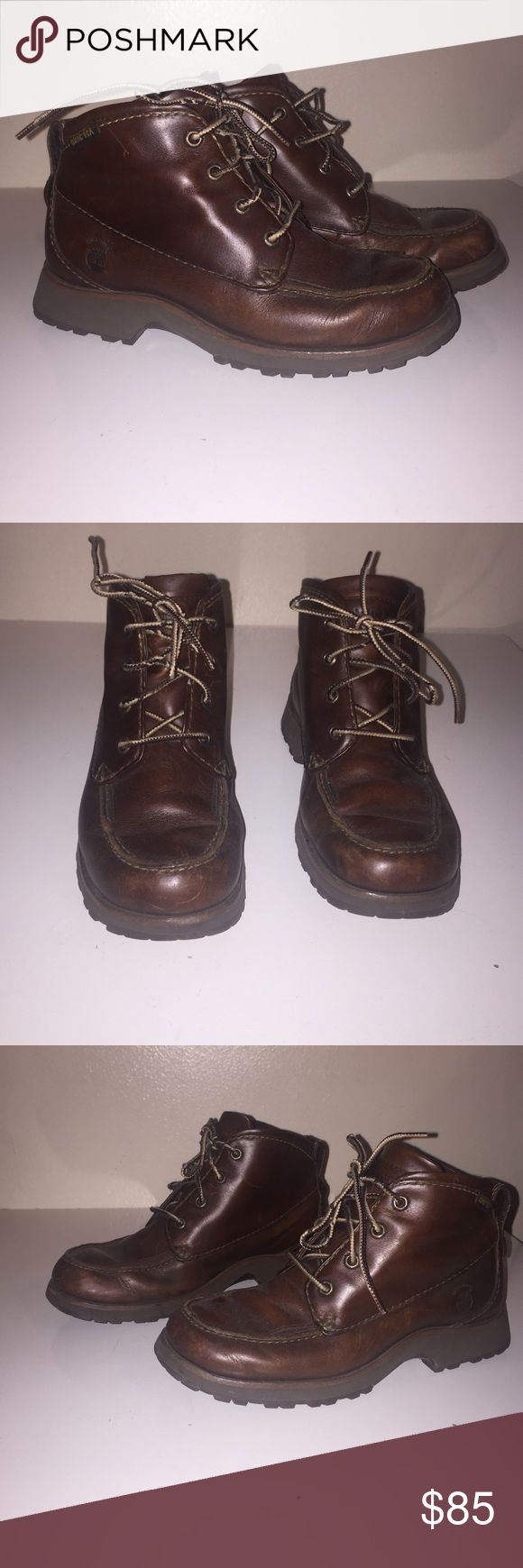 Timberland Gore-Tex Waterproof Boots Timberland Gore-Tex Waterproof Boots. These have been worn but they are in excellent condition. Timberland Shoes