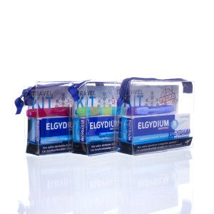Veel op reis? Deze Travel Kit van Elgydium is jouw ideale reispartner! Nu verkrijbaar bij PharmaMarket.be.