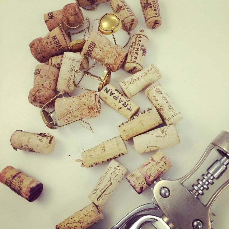 Make Your Case Wine Tasting #corks #wine #corkscrew #artistic