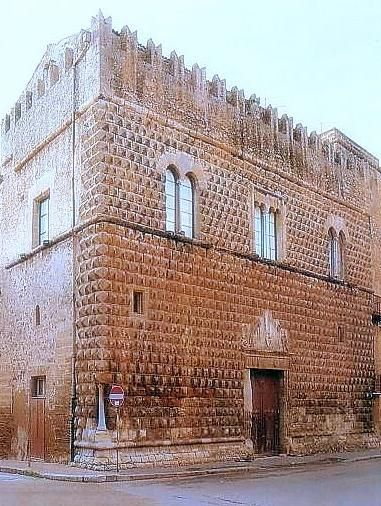 Palazzo Steripinto, Sciacca, Sicily, Italy