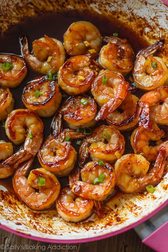 20 Minute Honey Garlic Shrimp Recipe App S Pinterest Garlic
