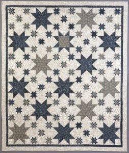 Civil War Quilts: Stars in a Time Warp 19: Serpentine Stripes