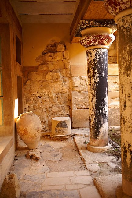 Knossos Minoan Palace archaeological site, Crete. © Paul Williams 2012. All rights reserved.