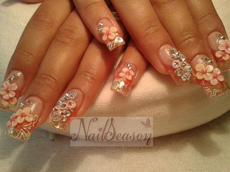 50 best images about decorado de unas on pinterest nail - Decorados de unas ...