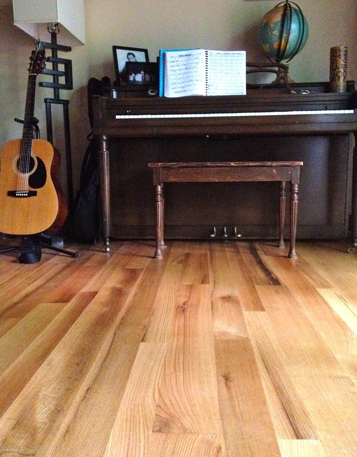 Rift quartered white oak natural grain random width for Hardwood floors atlanta