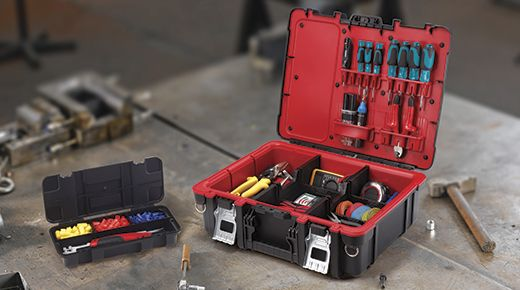 Technician Case Tool Storage By Keter Durable Heavy Duty