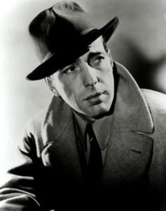 Humphrey Bogart: Here's looking at you, kid......